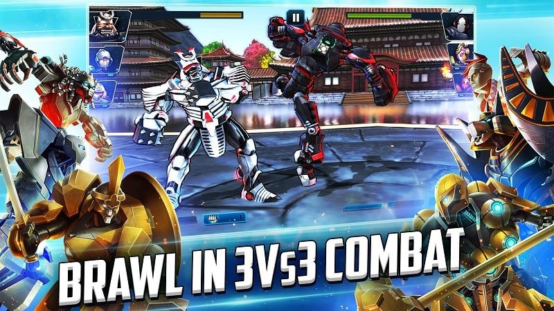 Ultimate Robot Fighting mod free