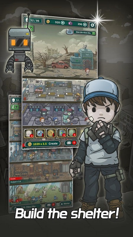 Underworld The Shelter mod apk