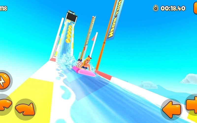 Uphill Rush Water Park Racing mod download