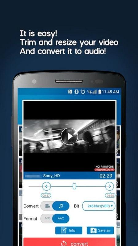 Video MP3 Converter mod apk