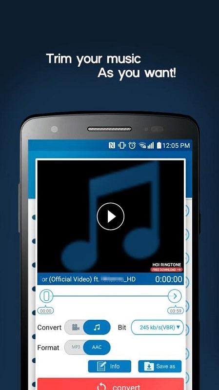 Video MP3 Converter mod free
