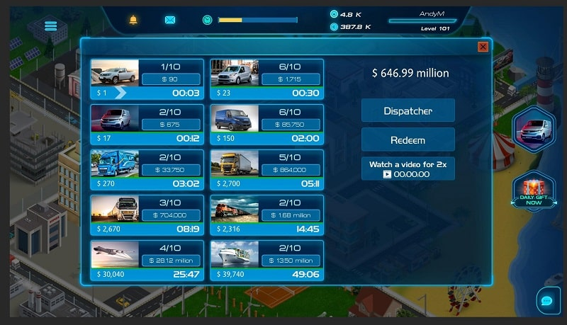 Virtual Truck Manager 2 Tycoon mod android