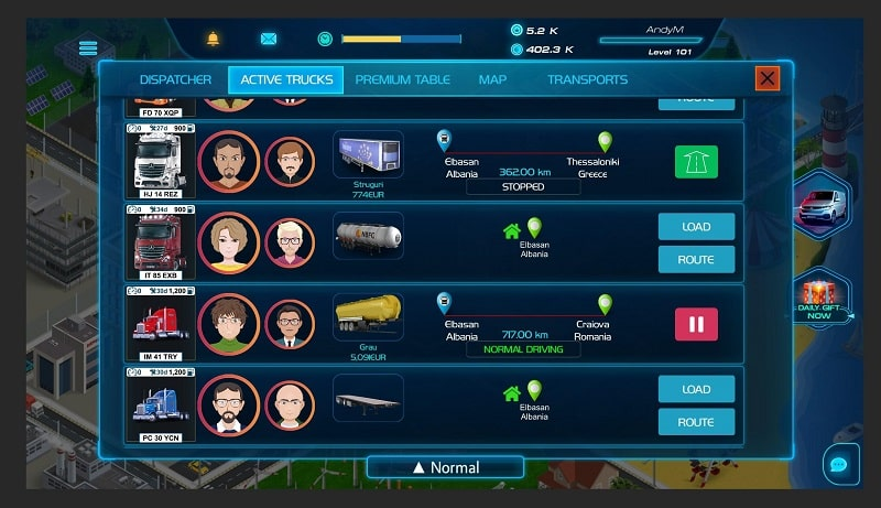 Virtual Truck Manager 2 Tycoon mod download