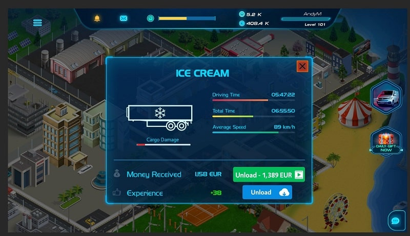 Virtual Truck Manager 2 Tycoon mod free