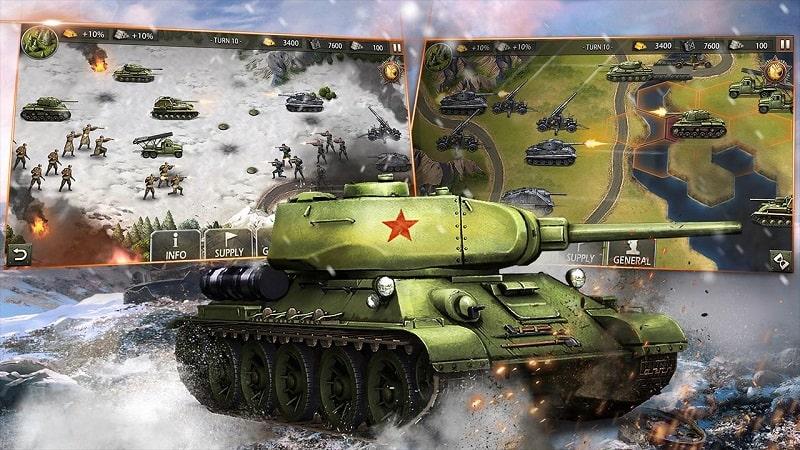 WW2 Strategy Games mod apk free