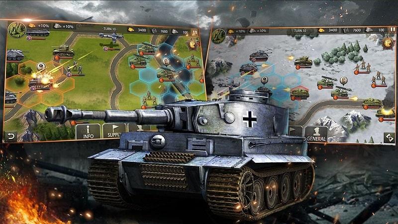 WW2 Strategy Games mod apk