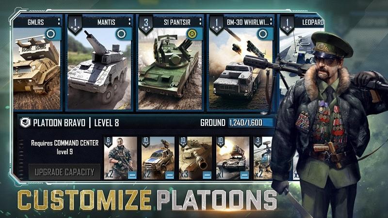 War Commander Rogue Assault mod android