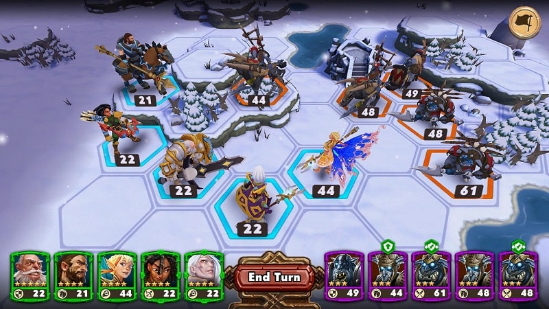 Warlords of Aternum mod android
