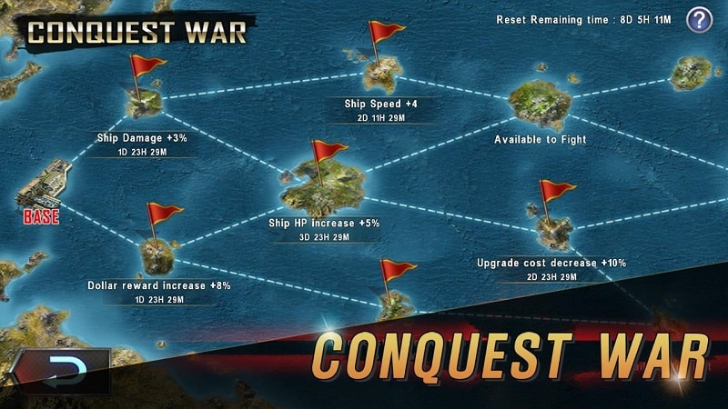 Warship-Battle-mod-android