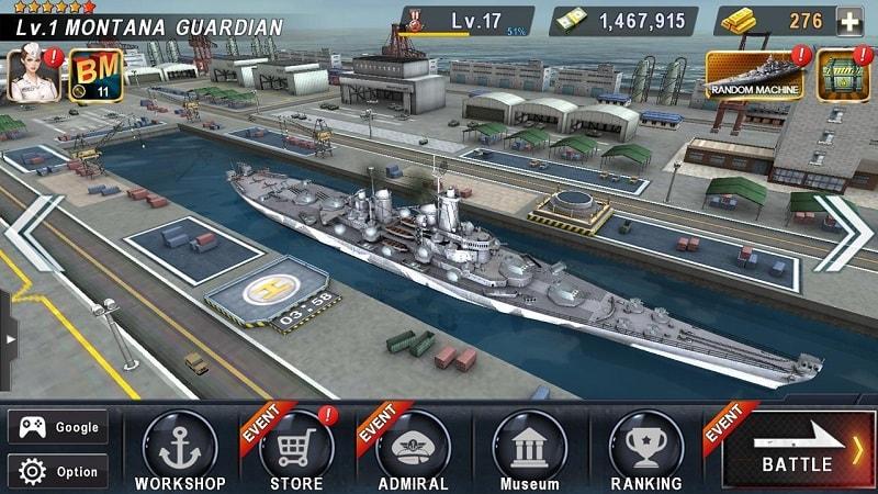 Warship-Battle-mod-download