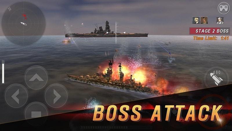 Warship-Battle-mod-free