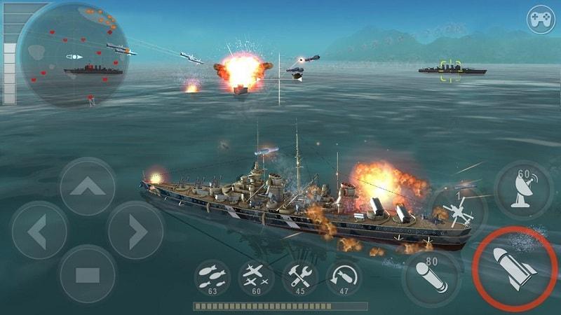 Warship-Battle-mod