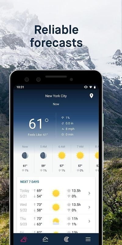 WeatherPro mod