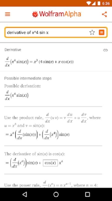 WolframAlpha mod apk