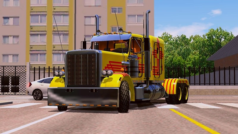 World Truck Driving Simulator mod android