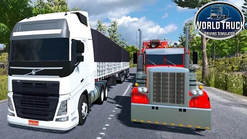 World-Truck-Driving-Simulator