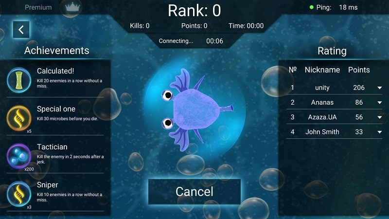 World of Microbes mod android