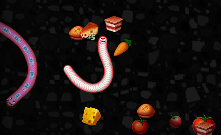 Worms Zone .io MOD download
