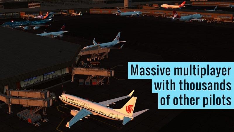 X Plane Flight Simulator mod apk free