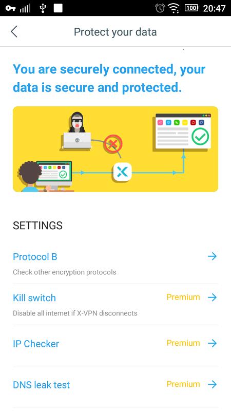 X VPN MOD APK