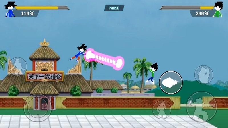 Z Stick Battle of Dragon Super Warrior android