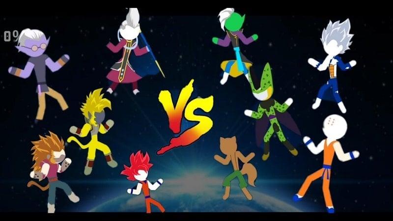 Z Stick Battle of Dragon Super Warrior mod apk