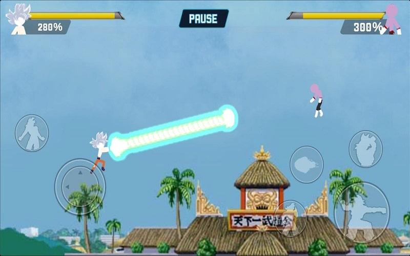 Z Stick Battle of Dragon Super Warrior mod