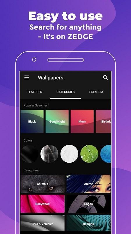 ZEDGE Wallpapers Ringtones mod free