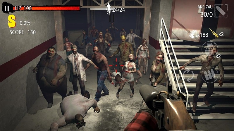 Zombie Hunter D Day mod android