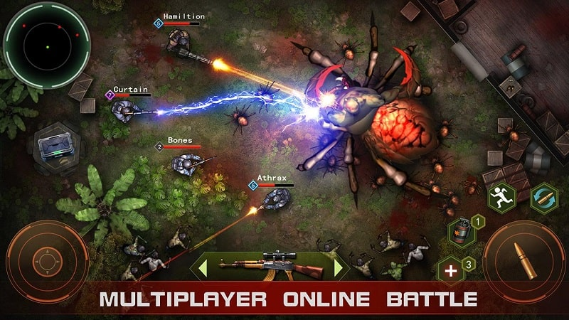 Zombie Shooter Pandemic Unkilled mod android