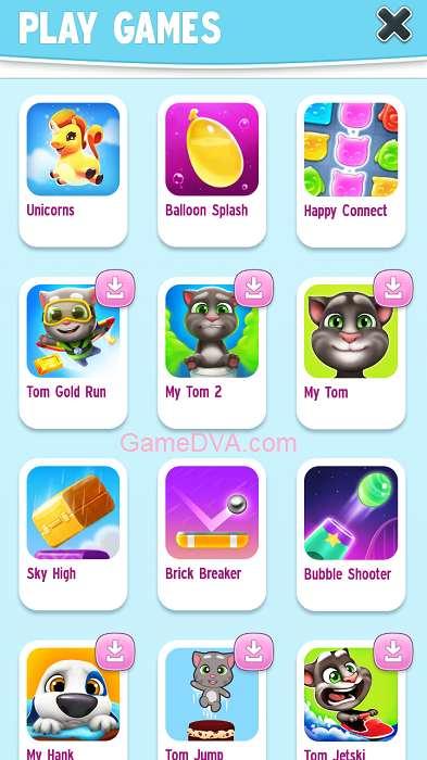 Play Games với nhiều trò chơi vui