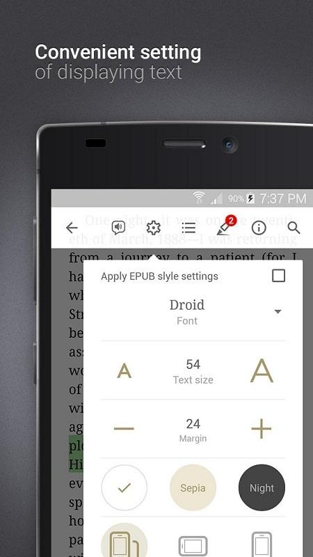 eReader Prestigio Book Reader mod android