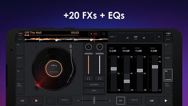 edjing Mix mod android