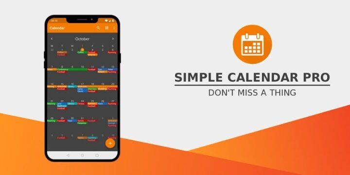 Simple Calendar Pro