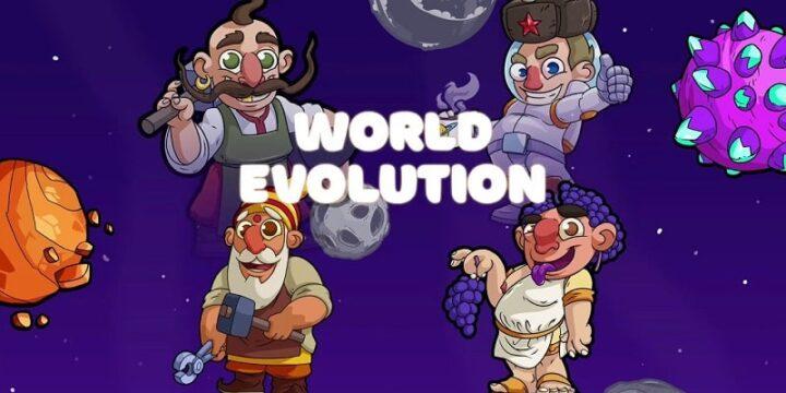 World Evolution Clicker mod