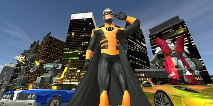 Naxeex Superhero mod