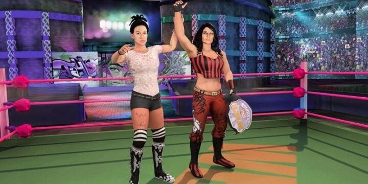 Bad Girls Wrestling Fighter mod android