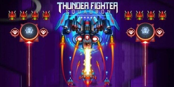 Thunder Fighter Superhero
