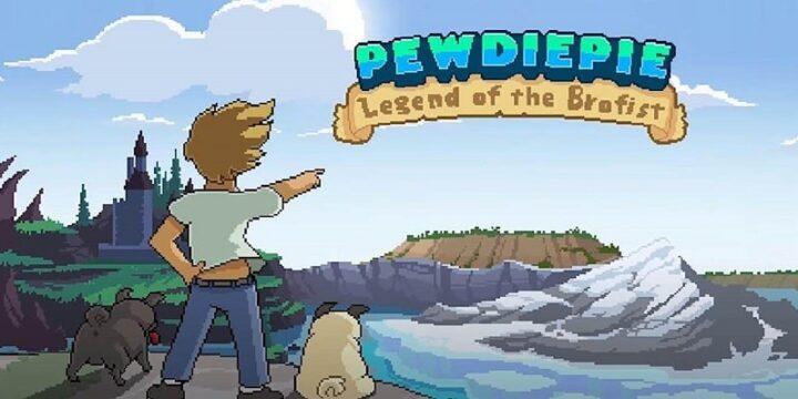 PewDiePie Legend of Brofist mod