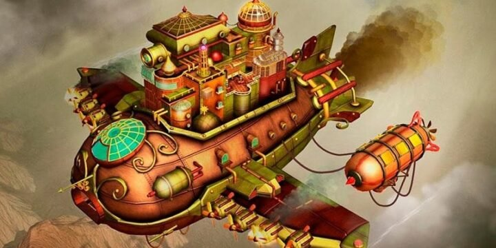 Escape Machine City Airborne mod