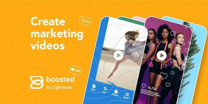 Boosted Marketing Video Maker