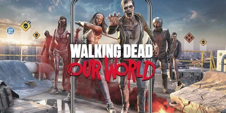 The Walking Dead Our World mod