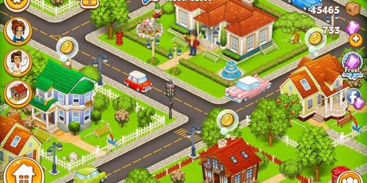 Cartoon City farm to village