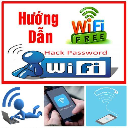 Hack wifi trên Android, iOS, PC