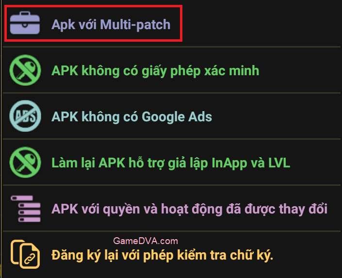 Xóa quảng cáo Google Inapp với Lucky Patcher